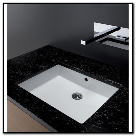 Rectangular Bathroom Sinks Undermount