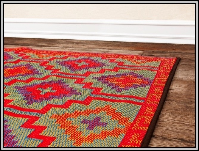 Recycled Plastic Rugs Round