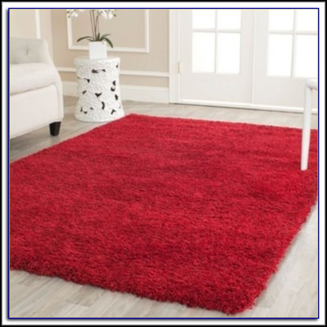 Red Area Rugs 8x10