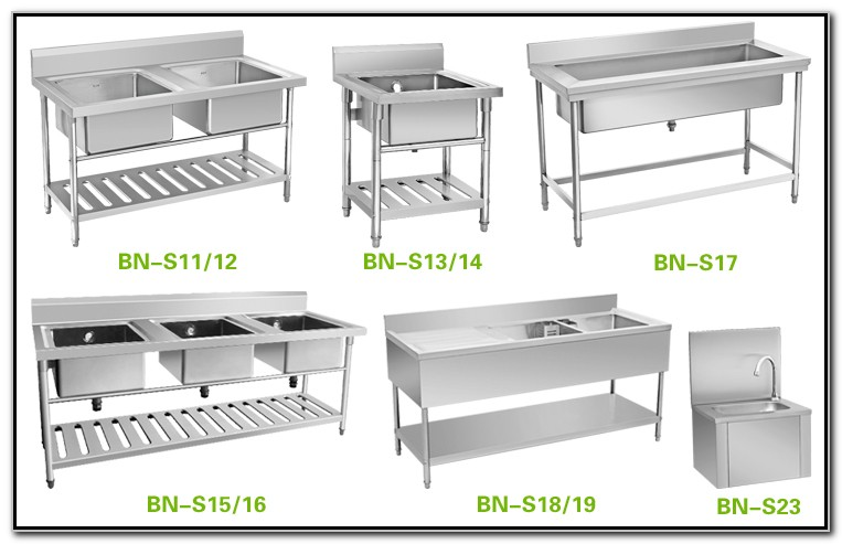 Restaurant Equipment Stainless Steel Sinks