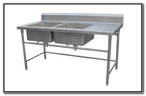 Restaurant Stainless Steel Sink Drainboard