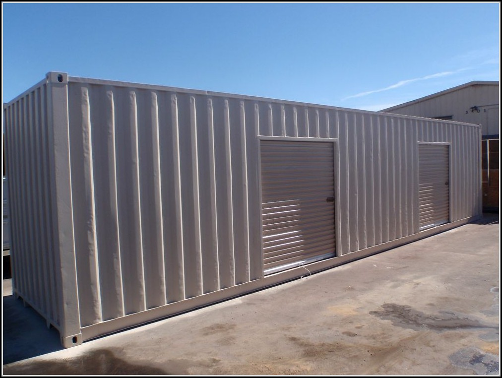 Roll Up Storage Building Doors