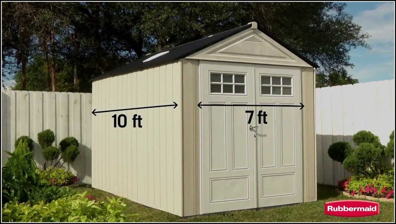 Rubbermaid Extra Large Storage Shed