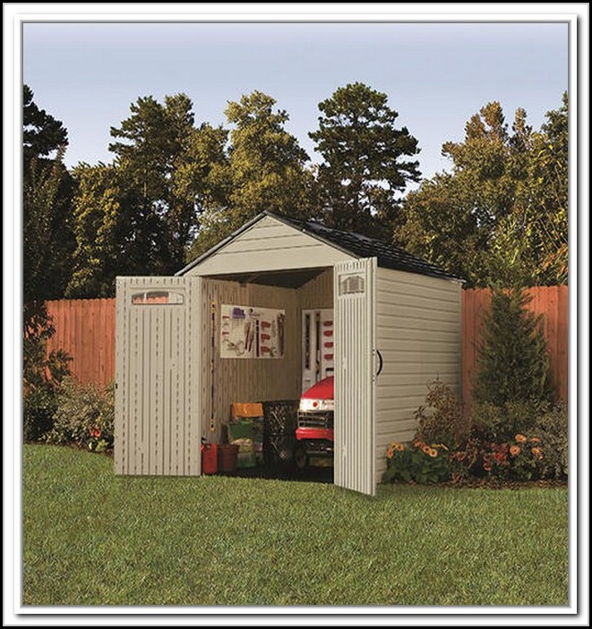Rubbermaid Gable Storage Shed