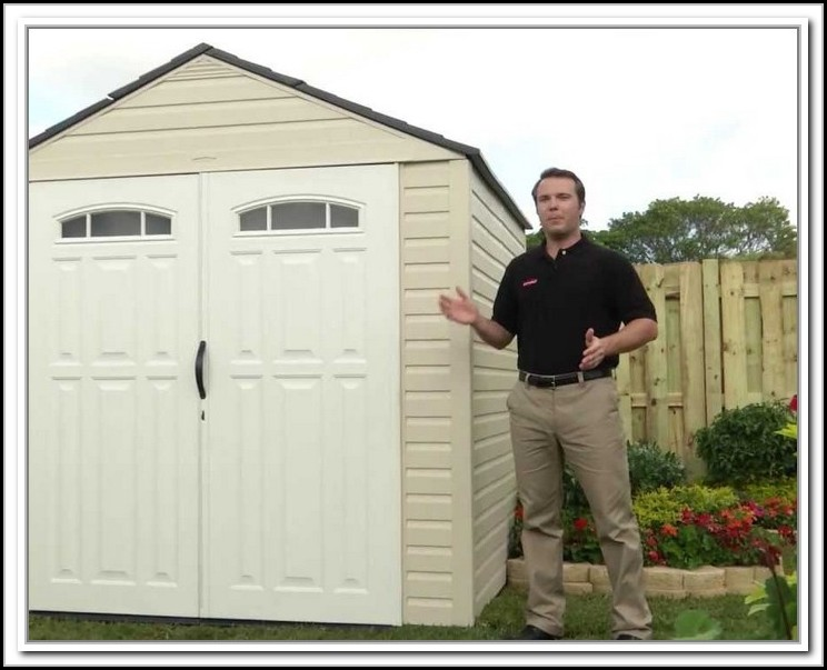 Rubbermaid Horizontal Storage Shed Assembly Instructions