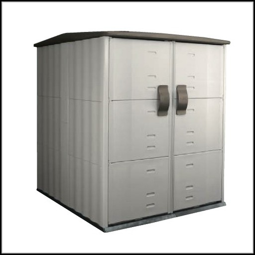 Rubbermaid Large Storage Shed