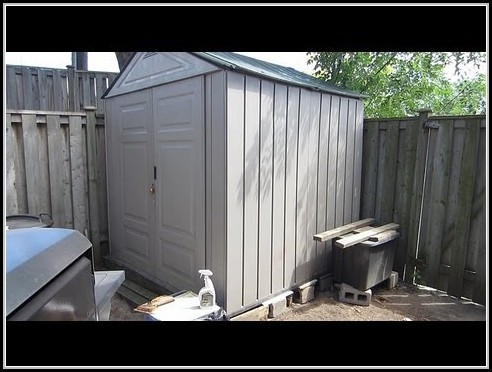 Rubbermaid Storage Shed Instructions