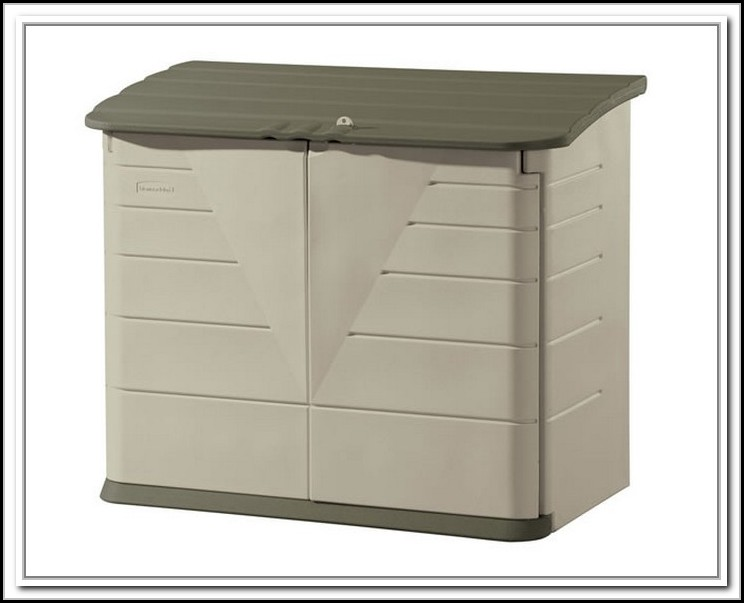 Rubbermaid Vertical Storage Shed 52 Cubic Ft