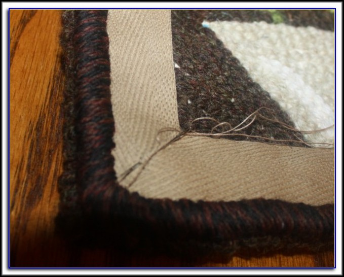 Rug Binding Tape For Hooked Rugs