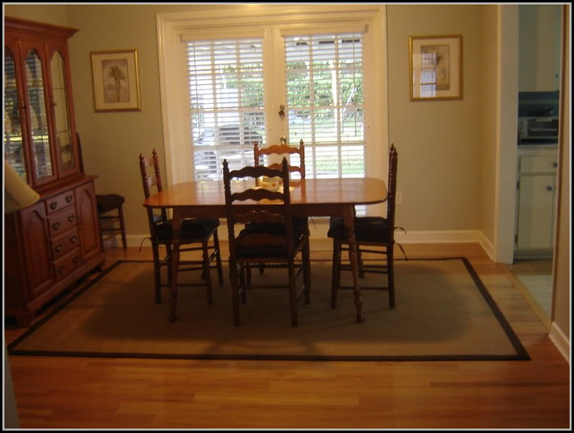 Seagrass Rug Dining Room