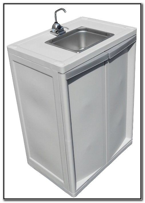 Self Contained Portable Hand Wash Sink