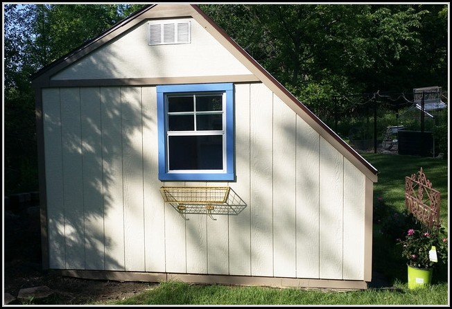 Shed Greenhouse Combo Garden Buildings