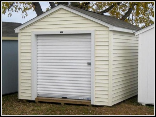 Shed Roll Up Door