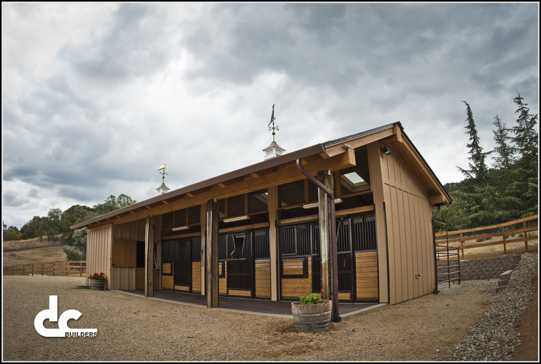 Shed Row Horse Barn Designs