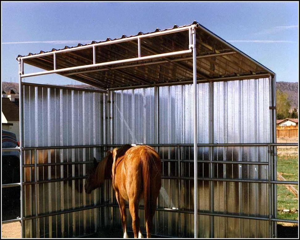 Shed Row Horse Barn Kits