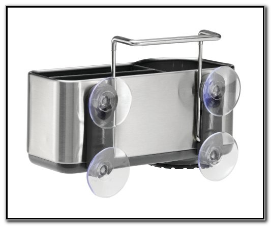 Simplehuman Sink Caddy Stainless Steel