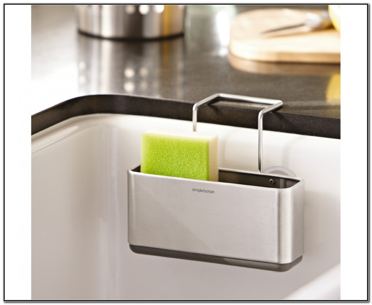 Simplehuman Slim Sink Caddy Stainless Steel
