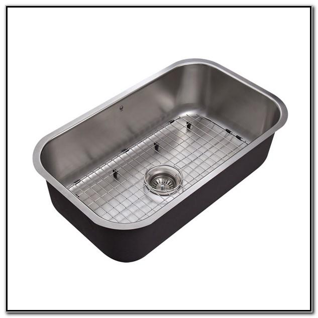 Single Basin Undermount Stainless Steel Sink