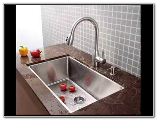 Single Bowl Undermount Sink Stainless Steel