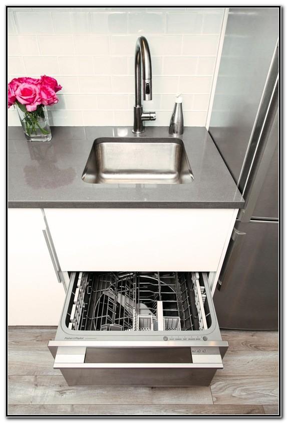 Single Dishwasher Drawer Under Sink