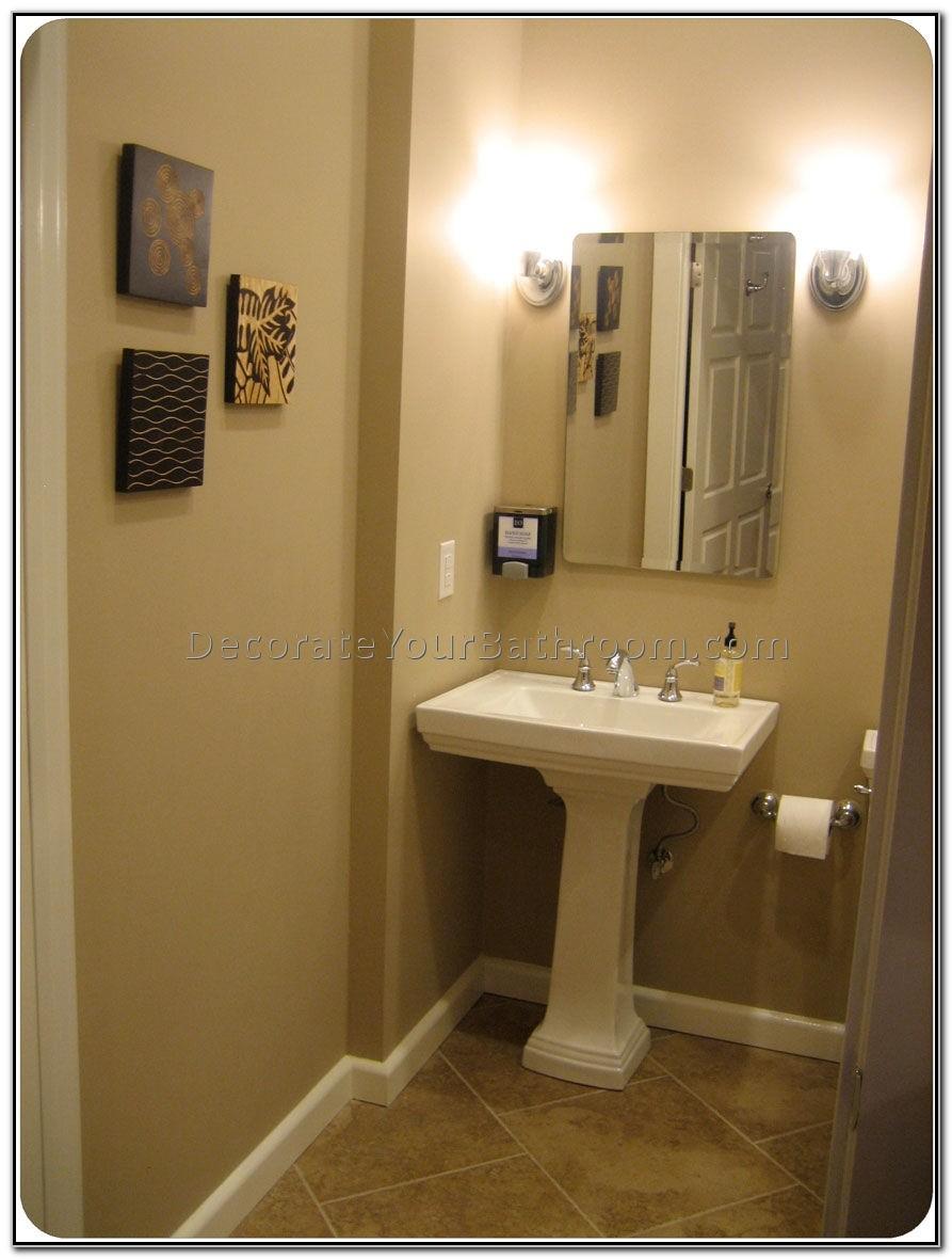 Small Bath Pedestal Sinks