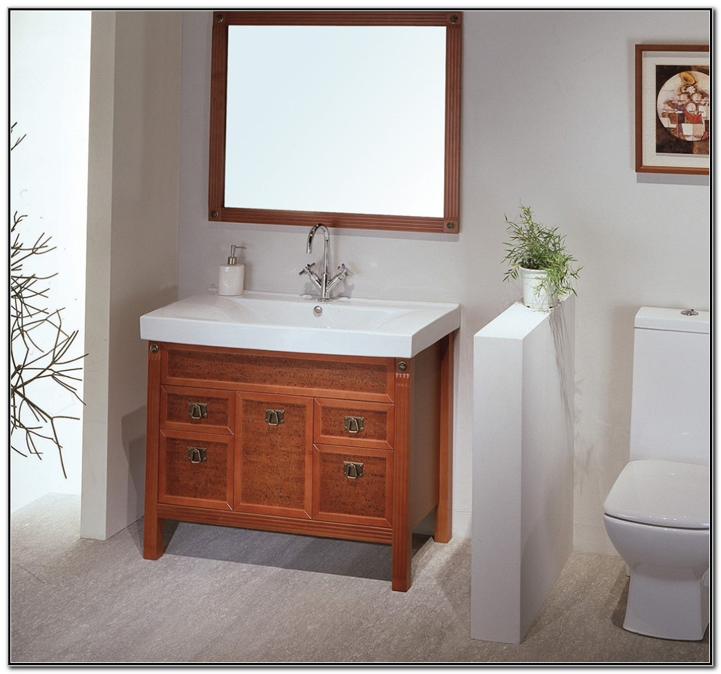 Small Bathroom Cabinet And Sink