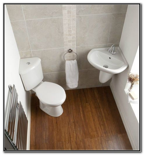 Small Bathroom Corner Basin