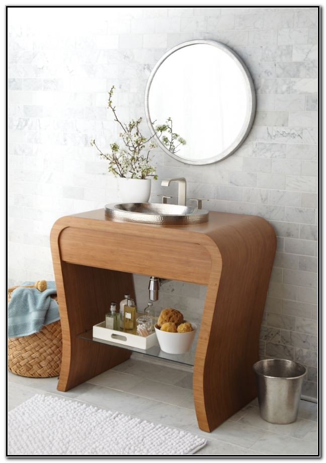 Small Bathroom Vanities For Vessel Sinks