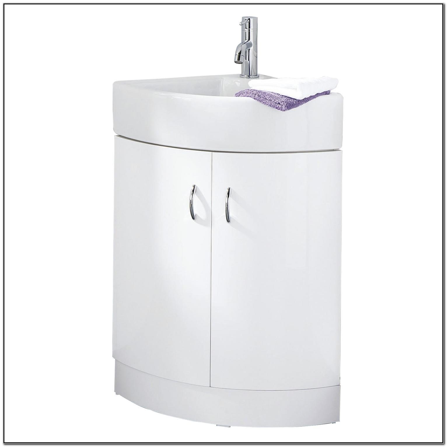 Small Corner Sink Cabinet