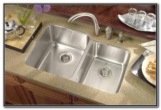 Small Double Bowl Undermount Kitchen Sink