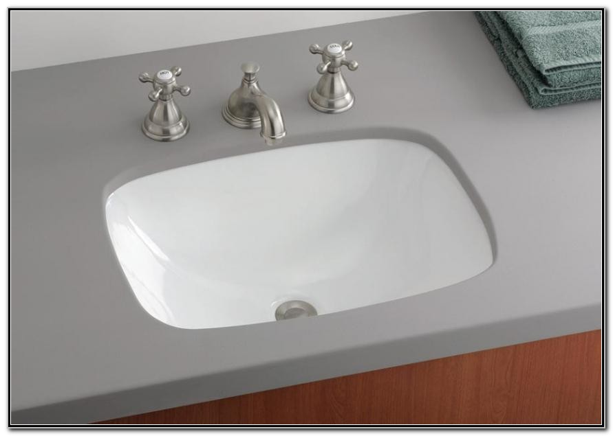 Small Rectangular Bathroom Sink Undermount