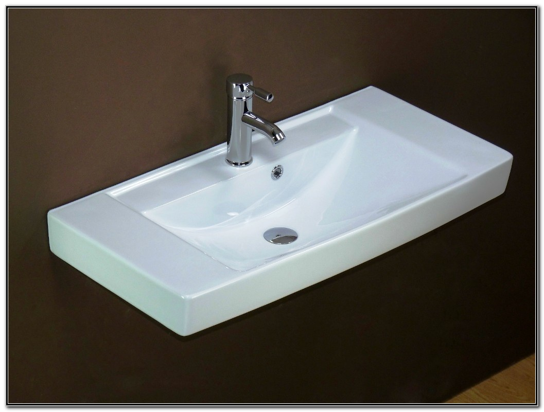 Small Rectangular Undermount Bathroom Sinks