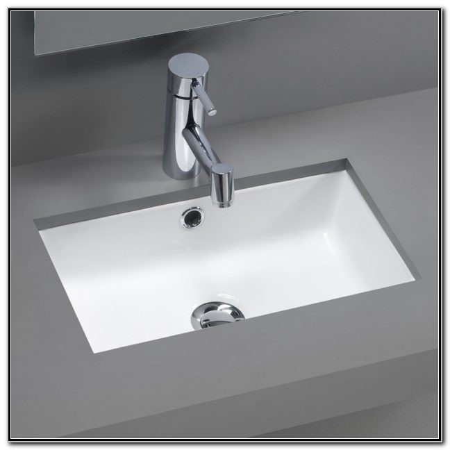 Small Undermount Bathroom Sink