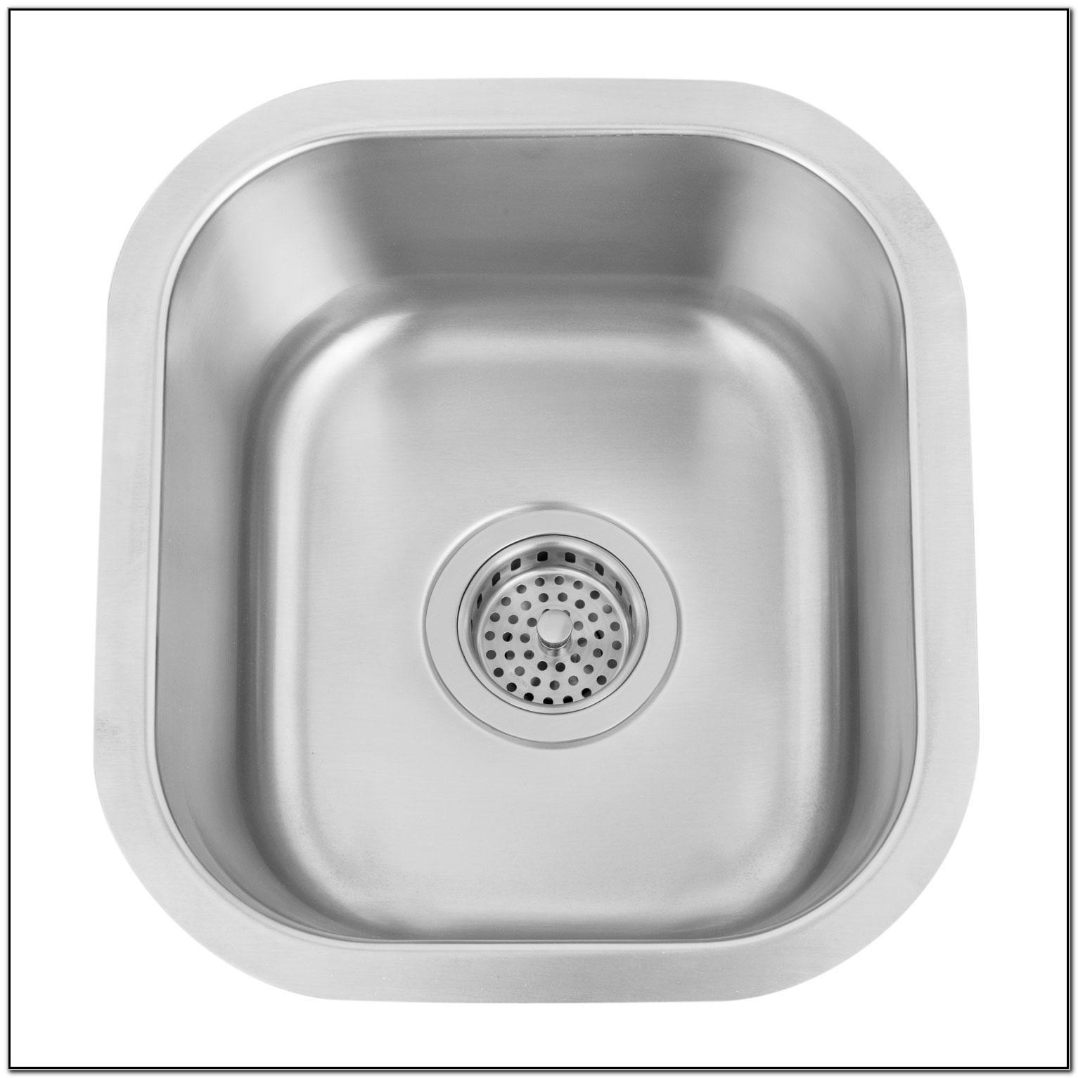Small Undermount Prep Sink
