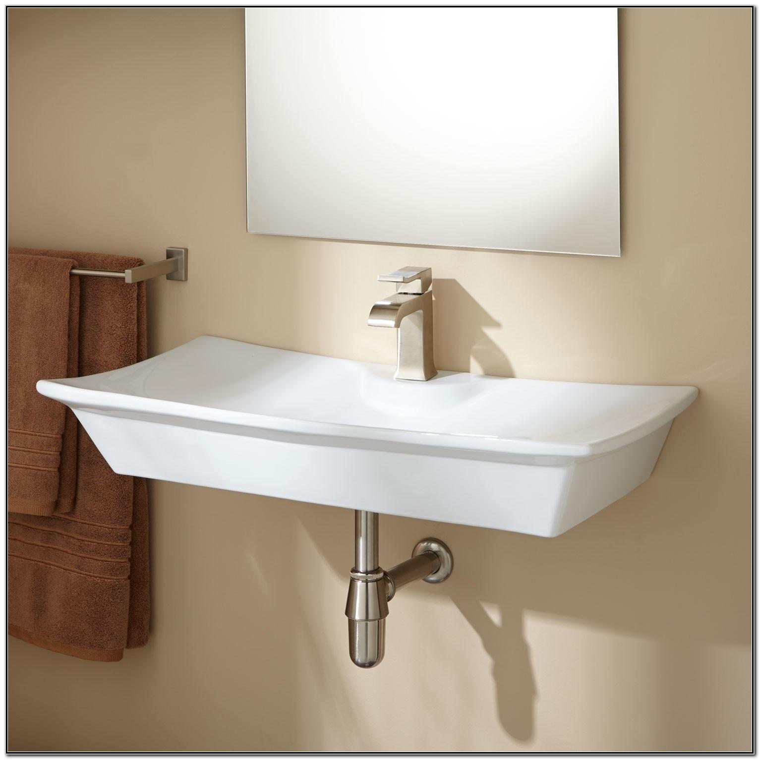 Small Wall Mounted Bath Sinks
