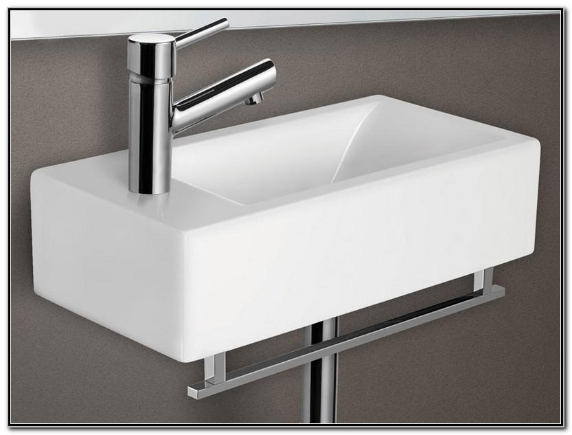 Small Wall Mounted Bathroom Sinks Canada