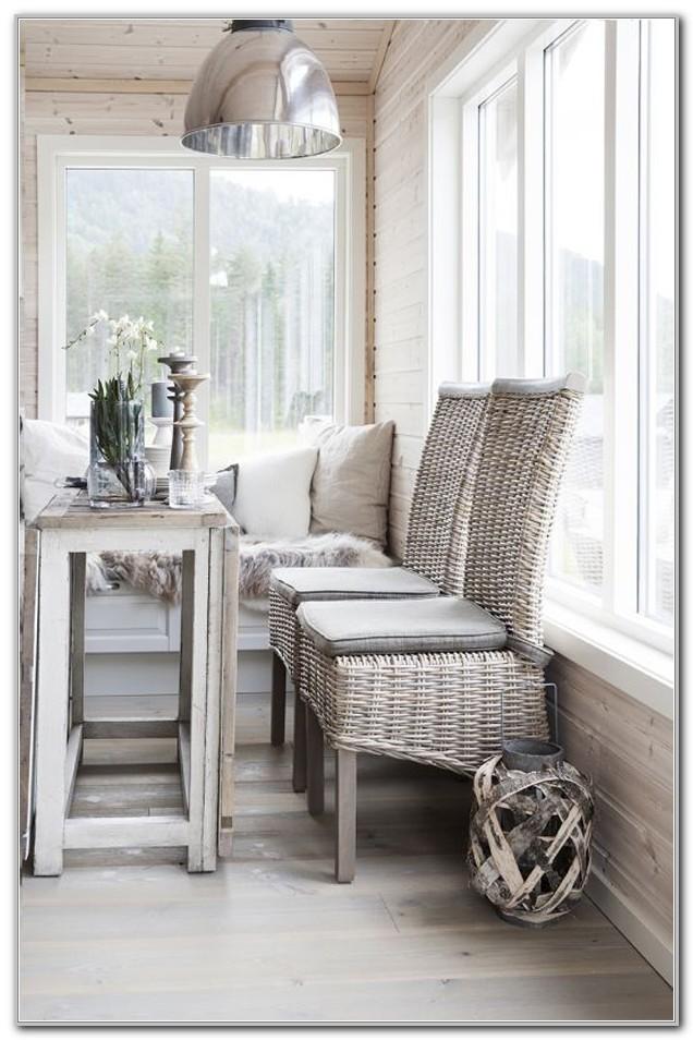 Small Wicker Sunroom Furniture
