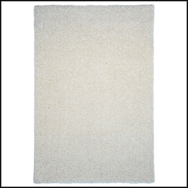 Solid Ivory Area Rug
