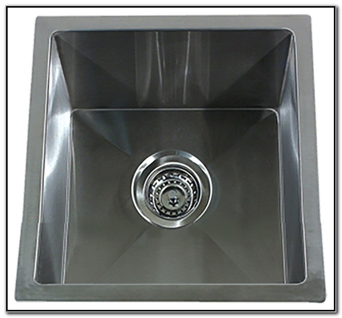 Square 15 Stainless Steel Sink