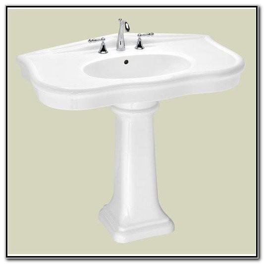 St Thomas Creations Parisian Pedestal Sink