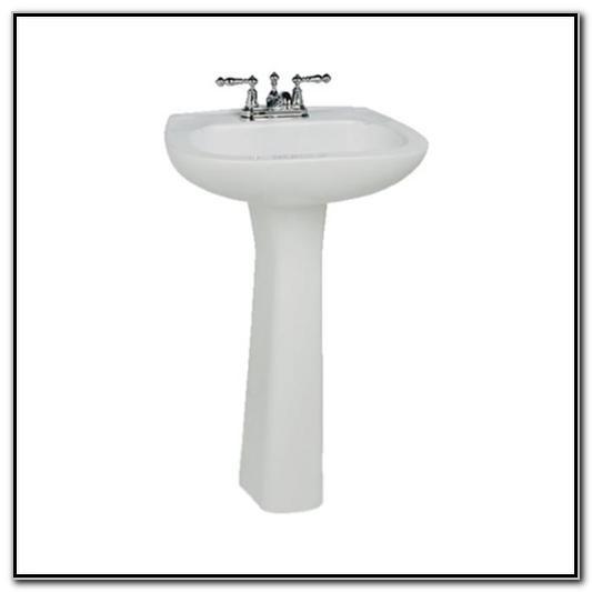 St Thomas Pedestal Sink Home Depot