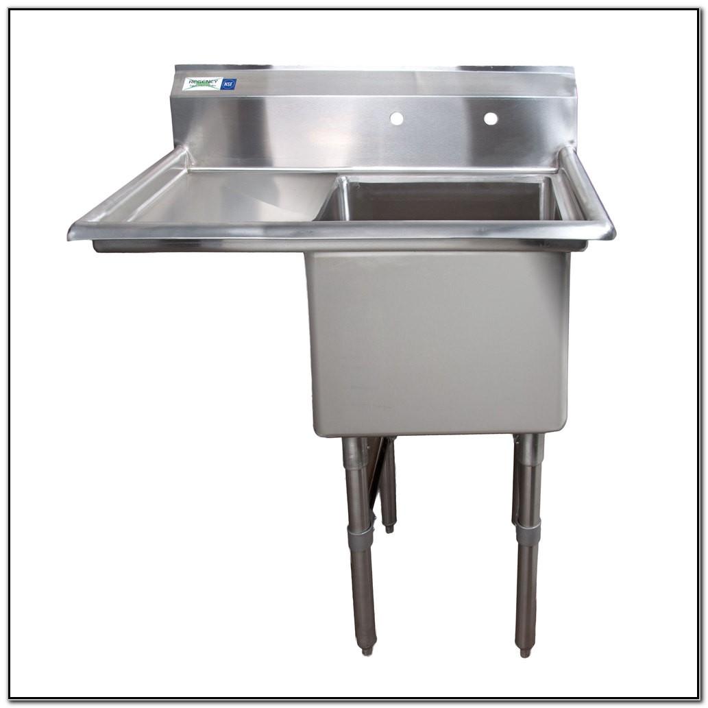 Stainless Steel Freestanding Sink