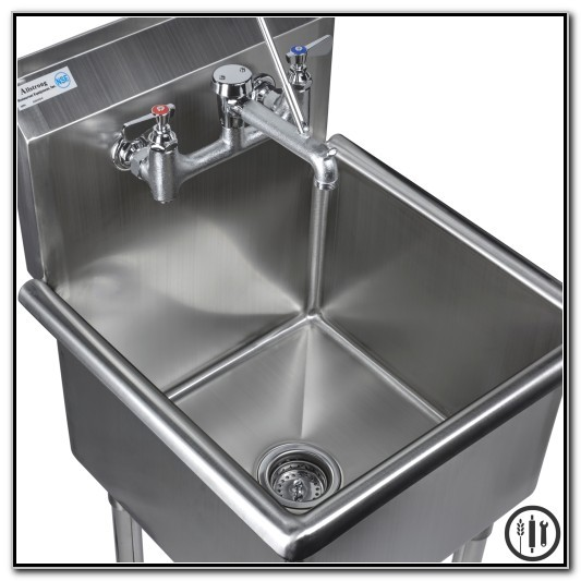 Stainless Steel Mop Sink With Legs