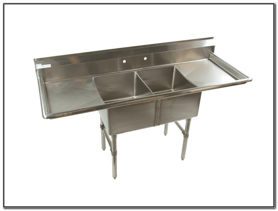 Stainless Steel Restaurant Sinks