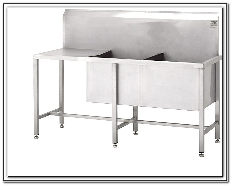 Stainless Utility Sink With Legs