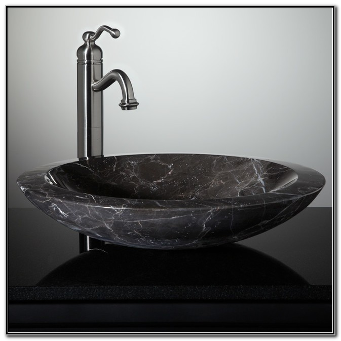 Stone Vessel Sinks For Bathrooms