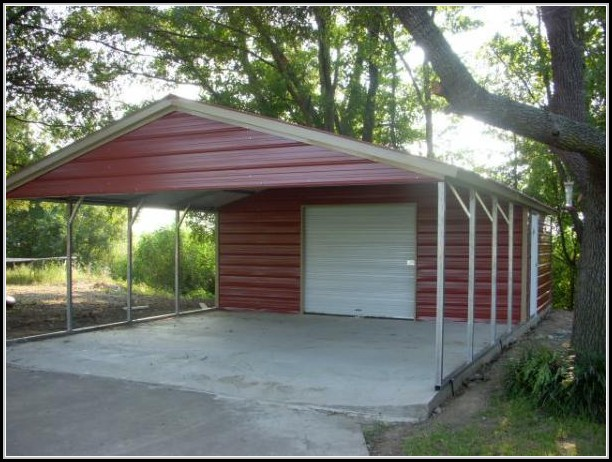 Storage Shed With Carport Plans