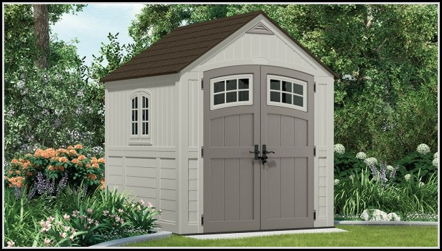 Suncast 7x7 Resin Outdoor Storage Shed