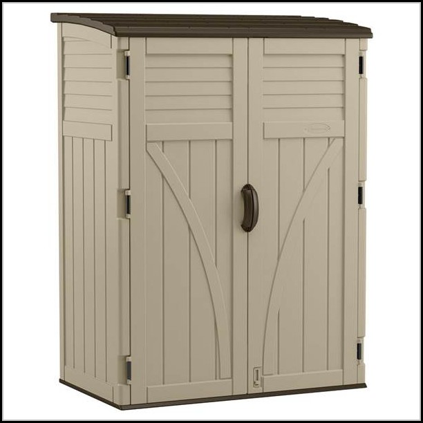Suncast Outdoor Vertical Storage Shed