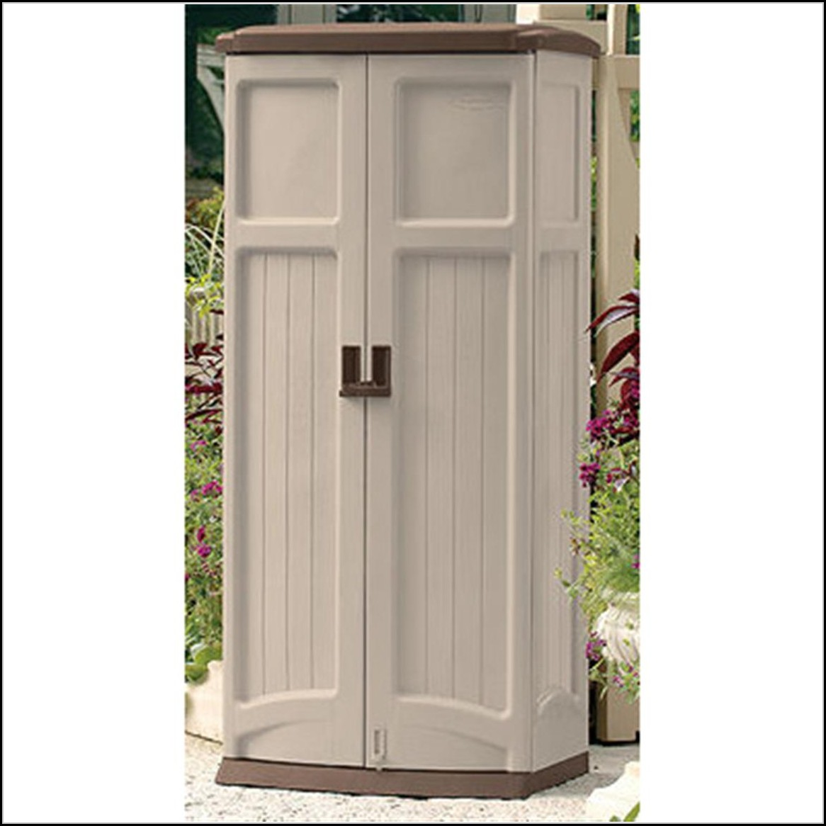 Suncast Patio Storage Shed Vertical